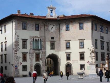 Pisa Piazza dei Cavalieri