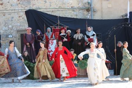 Middeleeuwse feesten Monteriggioni