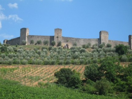 Vestingstad Monteriggioni