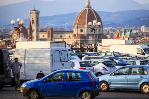 Parkeren in Toscane Florence