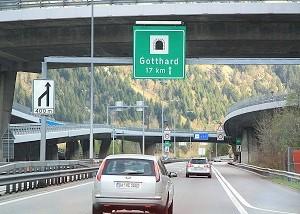Overnachtingshotels via Zwitserland naar Italië Toscane