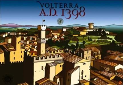 Volterra AD 1398: vakantie in de Middeleeuwen